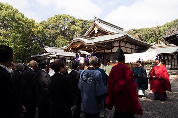 成海神社例祭お祓い