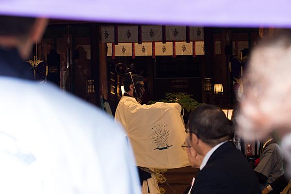 成海神社例祭神職舞