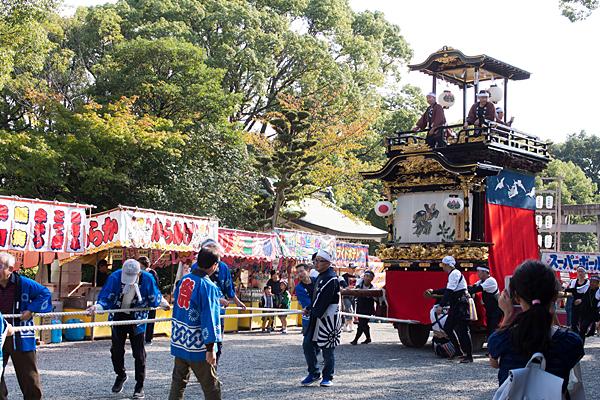 成海神社例祭山車集結