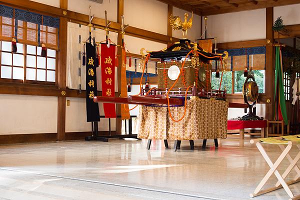 成海神社例祭神輿