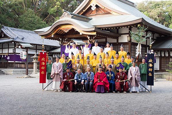成海神社例祭集合写真