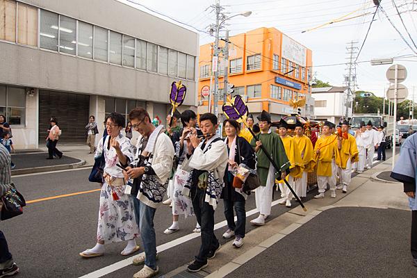成海神社例祭神輿渡御