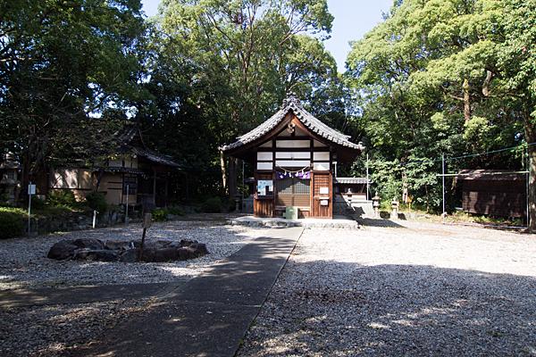 諏訪山諏訪社拝殿