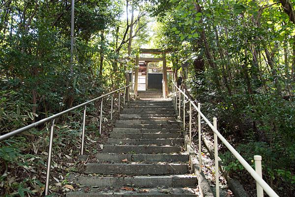 橘神社階段