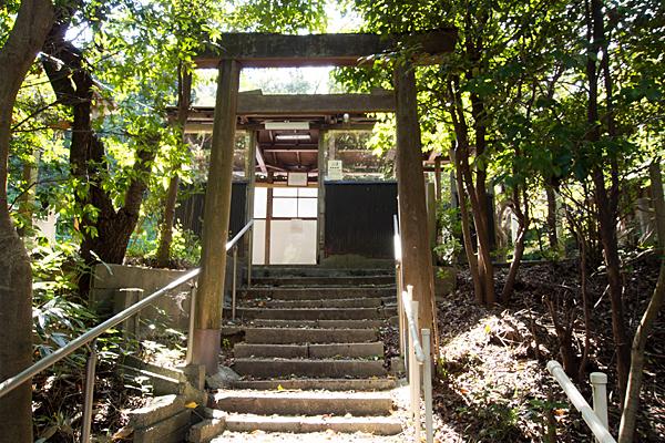 橘神社二の鳥居前