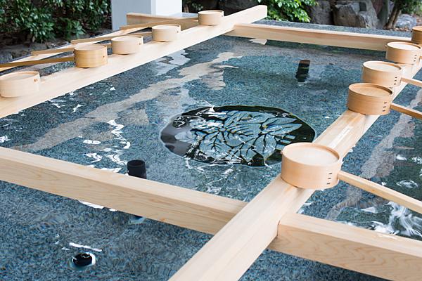 成海神社例大祭手水舎