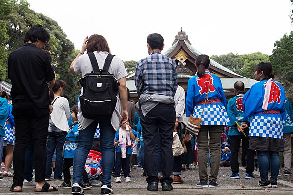 成海神社例大祭子供会