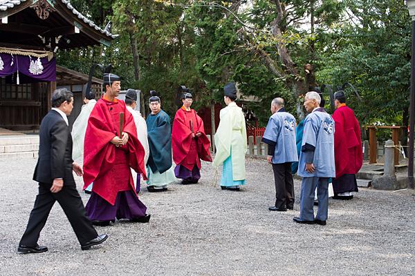 成海神社例大祭始まる前