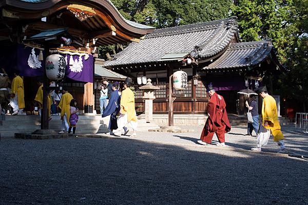 成海神社例大祭行列準備