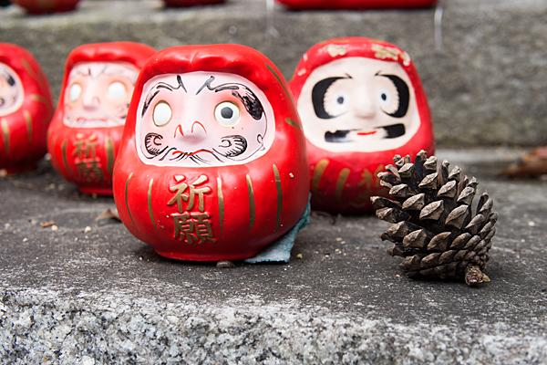 成海神社奉納だるま