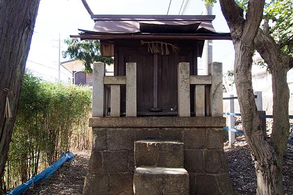 境松秋葉神社の社正面