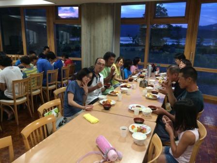 青年の家夕食3