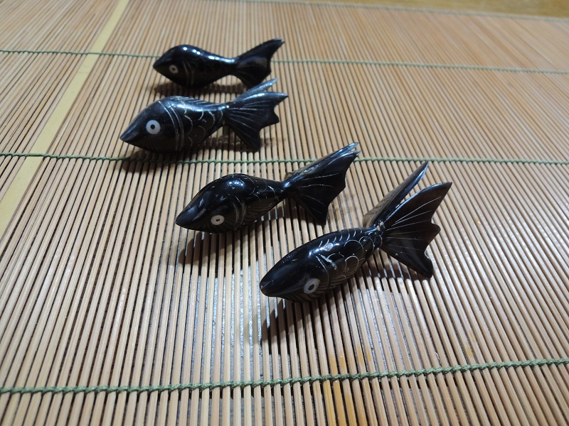 金魚のお箸置き