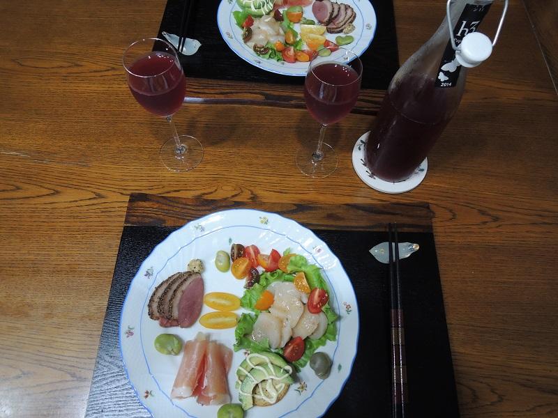 お誕生日の食事