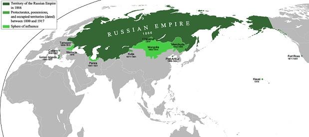ロシア植民地