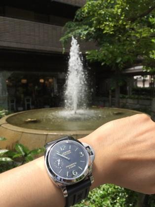 アメリカ村 パネライ(PANERAI)機械式腕時計PAM00510