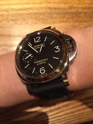 パネライ(PANERAI)機械式腕時計PAM00510