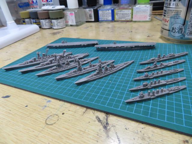 ウェーブラインシリーズ 1/3000 フジミ の3