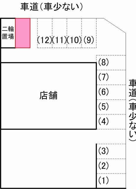 月田駐車場見取り図