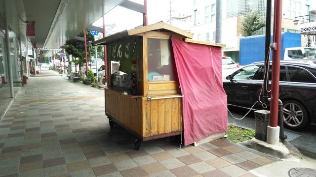 豊川稲荷付近の団子屋台