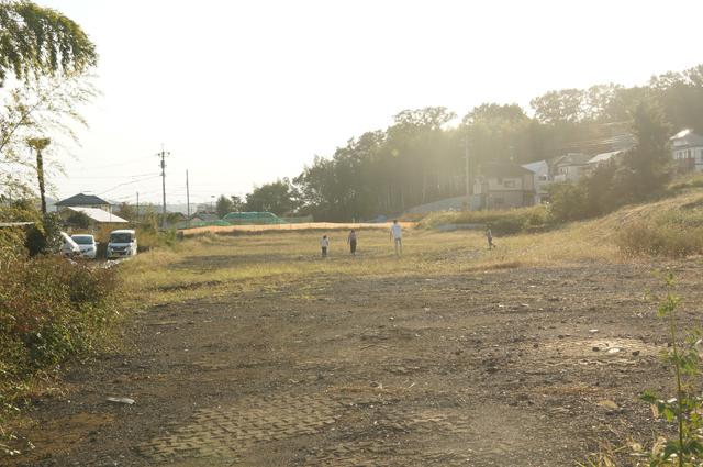 国道20号線に将来なる土地