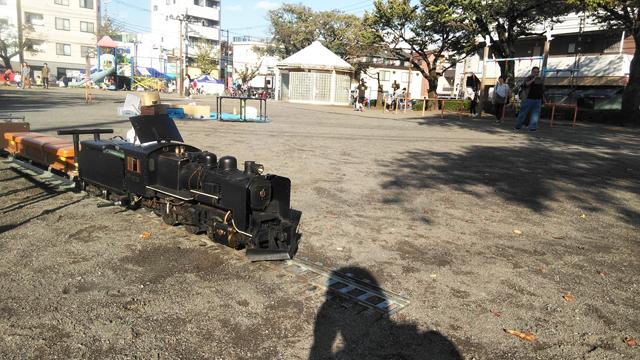 国立汽車ぽっぽ公園でミニSL