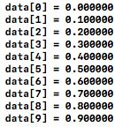 作成したデータの確認画像