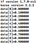 読み込んだデータ表示結果2