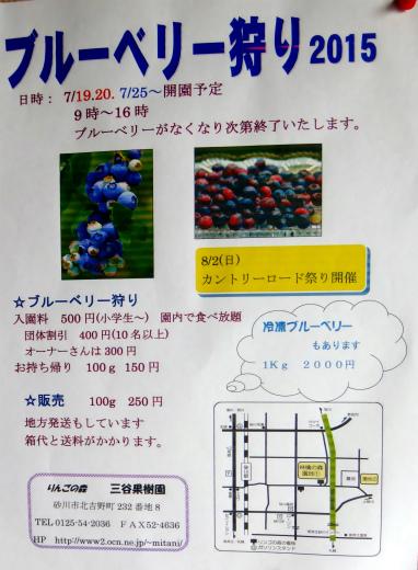 s-707-1ブルベリー刈りポスター