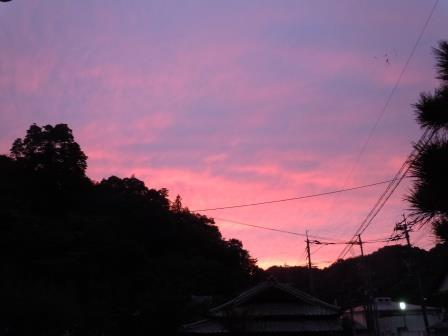 夕景1(2018-10-11)