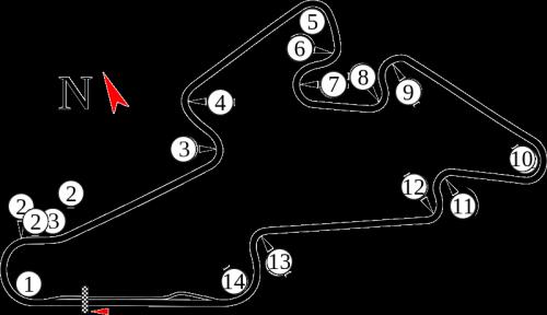 ブルノ・サーキット 2015