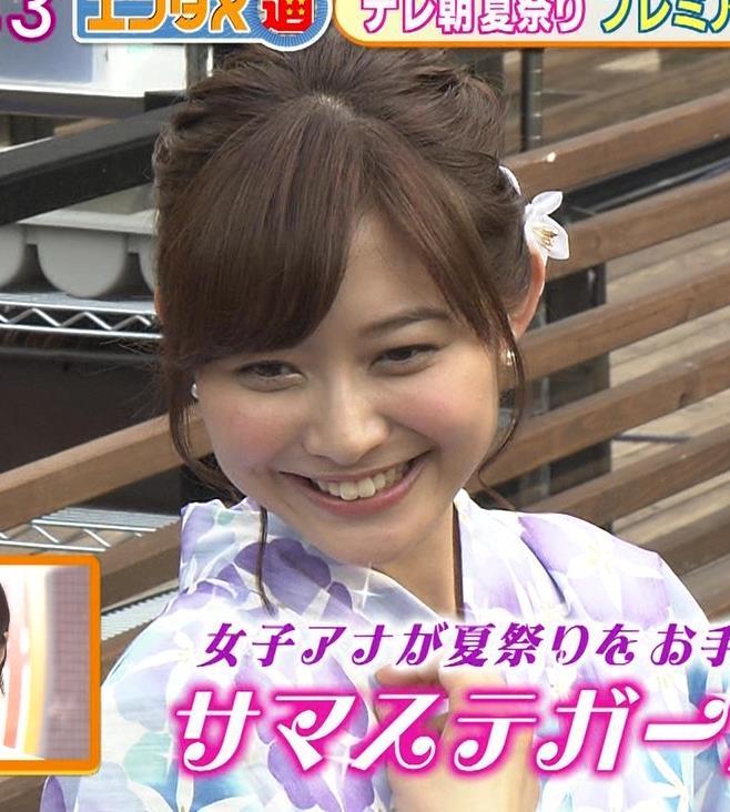 久冨慶子 浴衣がかわいいキャプ画像(エロ・アイコラ画像)
