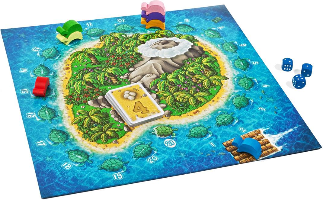 ウミガメの島:展示用写真