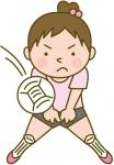 無料画像 バレーボール女子