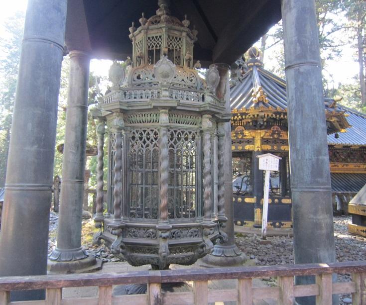 日光東照宮 オランダ灯籠