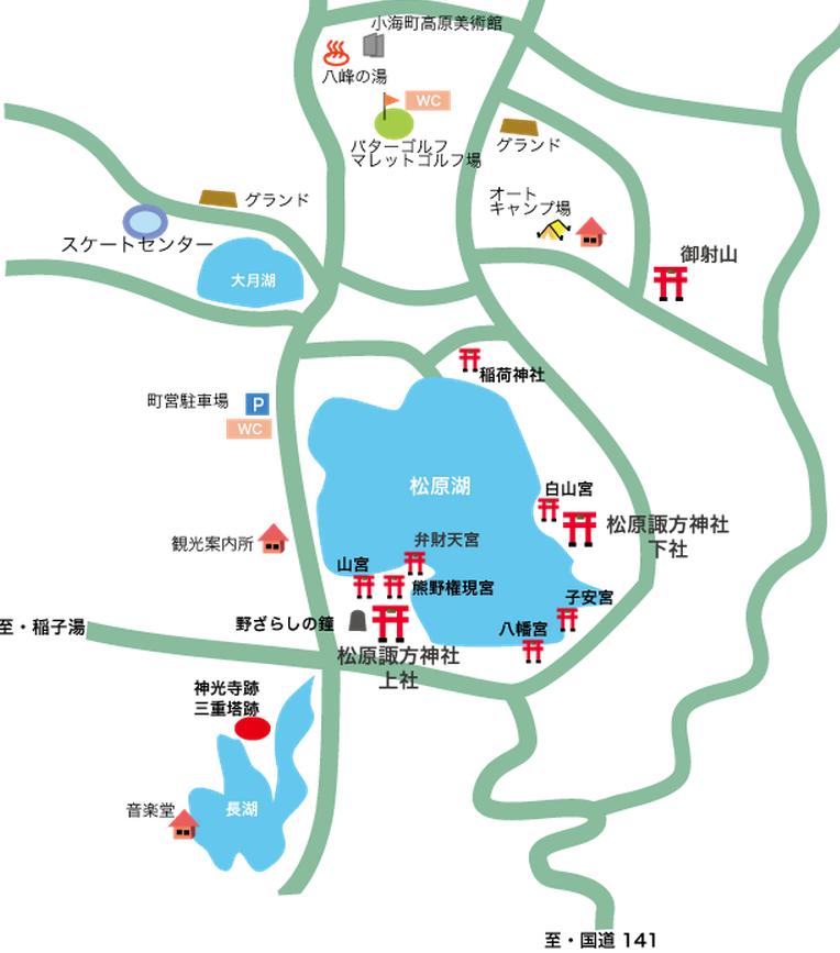 神光寺地図