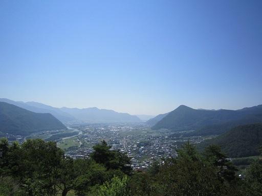 荒砥城からの眺め 南