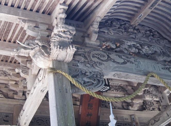 戸隠神社宝光社社殿彫刻