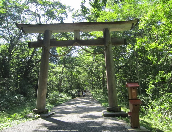 戸隠神社奥社鳥居