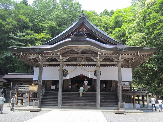 戸隠神社中社社殿