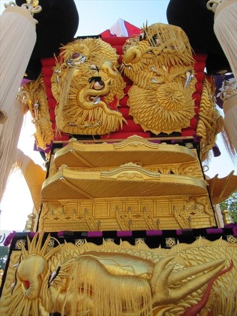 上泉の太鼓台8