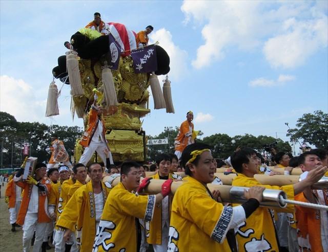 松木坂井の太鼓台1