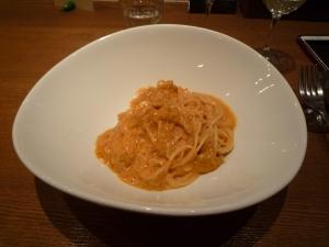 ウニのスパゲティ