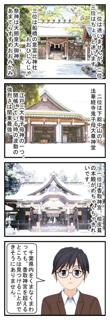 私が好きな千葉県のパワースポット ベスト3
