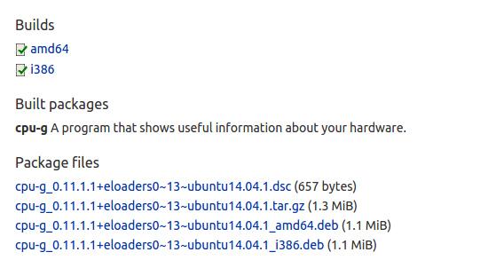 CPU-G 0.11 Ubuntu 15.04 debパッケージ ダウンロード