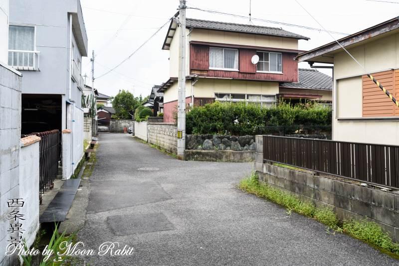 家並み 愛媛県西条市都町