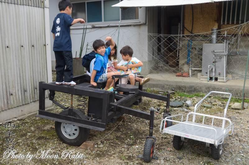 古町屋台(だんじり) 台車