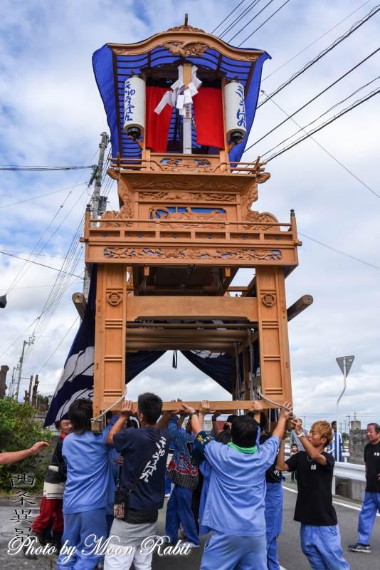 旧藩屋台(だんじり) 西泉屋台新調30周年記念運行