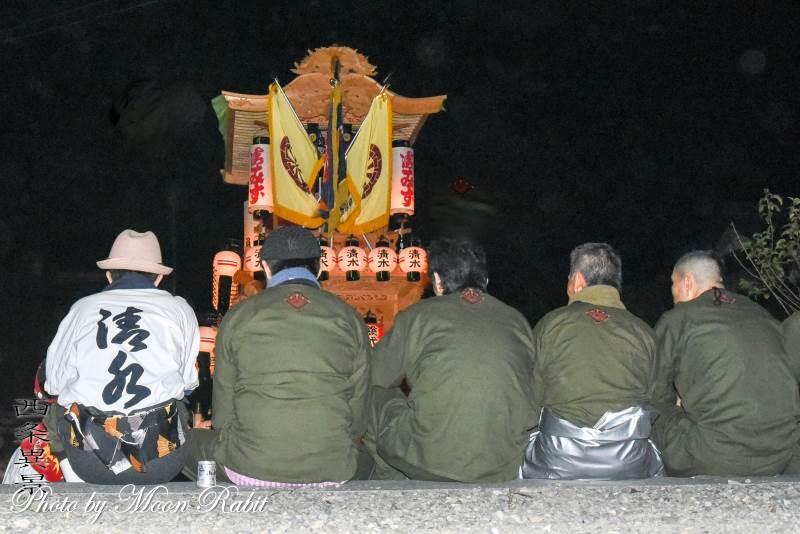 清水町だんじり(屋台) 祭り装束