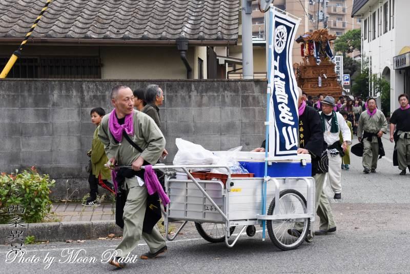 上喜多川屋台(だんじり) 台車・リアカー